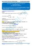 Luyện thi ĐH KIT 1 (Đặng Việt Hùng) - Mạch điện xoay chiều chỉ có một phần tử (Tài liệu bài giảng)
