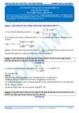 Luyện thi ĐH KIT 1 (Đặng Việt Hùng) - Lý thuyết về mạch dao động điện từ (tài liệu bài giảng)