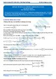 Luyện thi ĐH KIT 1 (Đặng Việt Hùng) - Bài tập tự luyện Vật lý: Mở đầu về sóng cơ, phương trình sóng cơ (P2)