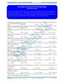 Luyện thi ĐH KIT 1 (Đặng Việt Hùng) - Bài toán về tốc độ, vận tốc trung bình