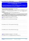 Luyện thi ĐH Môn Lý: Phương pháp đường tròn lượng giác