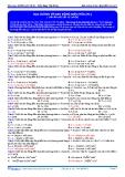 Luyện thi ĐH Môn Lý: Đáp án bài tập đại cương về quãng đường trong dao động điều hòa (phần 1)