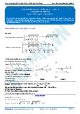 Luyện thi ĐH KIT 1 (Đặng Việt Hùng) - Mạch điện xoay chiều RLC - P1 (Tài liệu bài giảng)