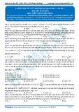 Luyện thi ĐH KIT 1 (Đặng Việt Hùng) - Luyện tập về cực trị trong mạch RLC - P1 (Bài tập tự luyện)