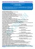 Luyện thi ĐH KIT 1 (Đặng Việt Hùng) - Lý thuyết về giao thoa sóng cơ (Bài tập tự luyện)