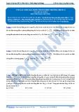Luyện thi ĐH Môn Lý: Con lắc đơn dao động trong điện trường (phần 2)