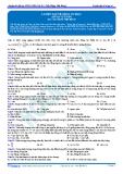 Luyện thi ĐH KIT 1 (Đặng Việt Hùng) - Luyện tập về sóng cơ học