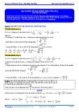 Luyện thi ĐH Môn Lý: Đại cương về dao động diều hòa (phần 2)