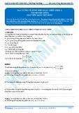 Luyện thi ĐH KIT 1 (Đặng Việt Hùng) - Đại cương về dòng điện xoay chiều P1 (Tài liệu bài giảng)