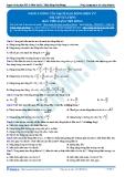 Luyện thi ĐH KIT 1 (Đặng Việt Hùng) - Năng lượng của mạch dao động điện từ (Bài tập tự luyện)