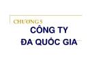Bài giảng Tài chính quốc tế ( Đại học công nghiệp TP Hồ Chí Minh) - Chương 5