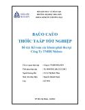 Báo cáo thực  tập tốt nghiệp: Kế toán các khoản phải thu tại Công Ty TNHH Nielsen