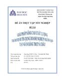Đề án thực tập tốt nghiệp: Giải pháp nâng cao chất lượng thẩm định tín dụng doanh nghiệp ngắn hạn tại Ngân hàng TMCP Á Châu