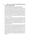 Tiểu luận: Phân tích hoạt động thanh toán Xuất – Nhập khẩu của ngân hàng Ngoại thương Hà Nội VCB Hà Nội