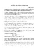 Bất đẳng thức Ptoleme và ứng dụng - Trần Nam Dũng
