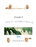 Chuyên đề: Tìm hiểu về địa lí dân cư Cao Bằng