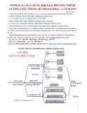 10 Phản xạ hay dùng khi giải phương trình lượng giác trong kì thi ĐH - CĐ