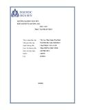 Báo cáo thực tập nhận thức: Chi Cục Thuế Quận Tân Bình