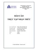 Báo cáo thực tập nhận thức: Công ty May mặc Quảng Việt