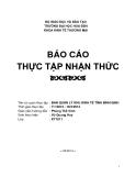 Báo cáo thực tập nhận thức: Ban quản lý khu kinh tế Bình Định
