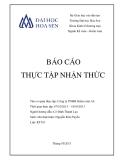 Báo cáo thực tập nhận thức: Công ty TNHH Kiểm toán AS