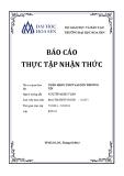 Báo cáo thực tập nhận thức: Ngân Hàng TMCP Sài Gòn Thường Tín