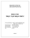 Báo cáo thực tập nhận thức: Công ty trách nhiệm hữu hạn thiết kế in ấn Hoàng Tín