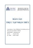 Báo cáo thực tập nhận thức: Công ty TNHH Quản lý Tư vấn Kiểm toán M.A.A.C