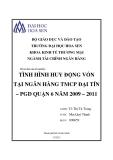 Báo cáo thực  tập tốt nghiệp: Tình hình huy động vốn tại ngân hàng TMCP Đại Tín – PGD quận 6 năm 2009 – 2011