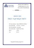 Báo cáo thực tập nhận thức: Công ty TNHH MTV Dệt May 7