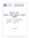 Báo cáo thực tập nhận thức: Công ty TNHH Phân Phối Lê Vinh