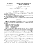 Quyết định về việc ban hành chế độ kiểm toán doanh nghiệp