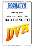 Bài giảng Dao Động Cơ - Đặng Việt Hùng