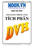 Bài giảng Tích phân - Đặng Việt Hùng
