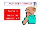 Bài giảng nguyên lý thống kê kinh tế (Huỳnh Huy Hạnh) - Chương 3