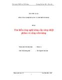 Tiểu luận: Tìm hiểu công nghệ nâng cấp xăng nhiệt phânn và xăng reforming