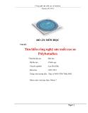 Đồ án: Tìm hiểu công nghệ sản xuất cao su Polybutadien