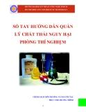 Sổ tay hướng dẫn quản lý chất thải nguy hại phòng thí nghiệm