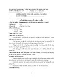 Đề cương chi tiết học phần Những nguyên lý cơ bản của Chủ nghĩa Mác Lênin 1