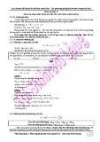 Chuyên đề luyện thi đại học môn hóa - Phương pháp báo cáo toàn nguyên tố, bảo toàn khối lượng