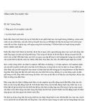 Tổng phân tích nước tiểu - BS Bùi Trường Giang