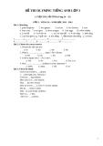 Đề thi Olympic Tiếng Anh lớp 3 - Cấp tỉnh (vòng 26-35)