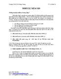 Tài liệu Module mềm PID - Trường TCNKTCN Hùng Vương