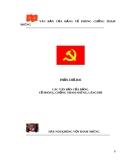 Văn Bản của Đảng về Phòng Chống tham nhũng