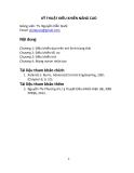 Kỹ thuật điều khiển nâng cao (TS. Nguyễn Viễn Quốc) - Chương 3: Điều khiển mờ