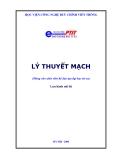 Giáo trình Lý thuyết mạch - ThS. Nguyễn Quốc Dinh