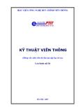 Giáo trìnhKỹ thuật viễn thông - TS. Nguyễn Tiến Ban