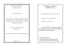 Tóm tắt luận văn thạc sĩ: Phát triển nguồn nguyên liệu giấy ở tỉnh Kon Tum cho công ty cổ phần tập đoàn Tân Mai
