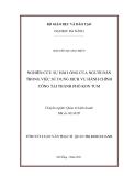 Tóm tắt luận văn thạc sĩ: Nghiên cứu sự hài lòng của người dân trong việc sử dụng dịch vụ hành chính công tại thành phố Kon Tum