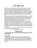 Bài thu hoạch: Thực tập Mầm Non
